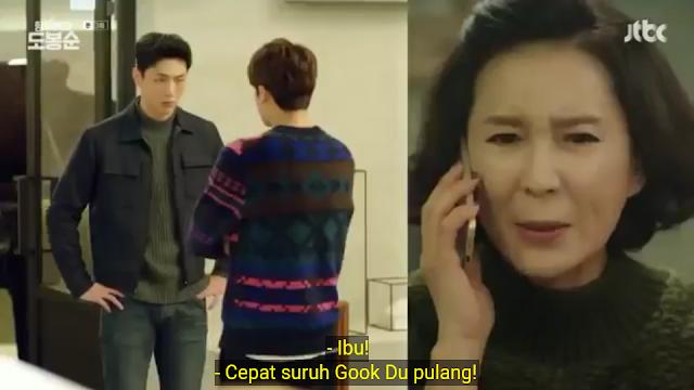 Lihatlah, Gook Doo tampak mengkhawatirkan Bong soon melebihi pacarnya sendiri!