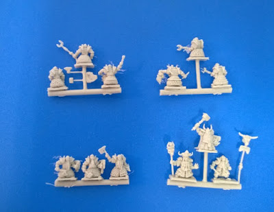 Dwarves from 10mm Fantasy Miniatures