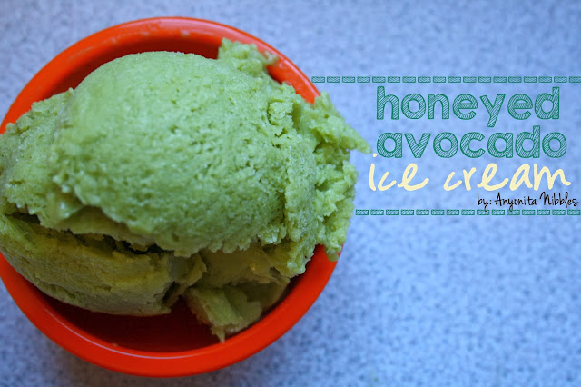 Honeyed Avocado Ice Cream by Anyonita Nibbles