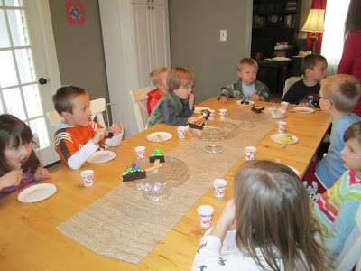 Christmas party ideas for a homeschool co-op