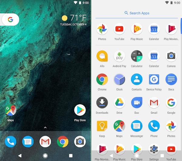 Download Pixel Launcher APK Terbaru