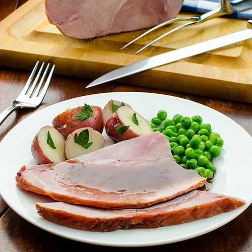 Braised Ham with Port