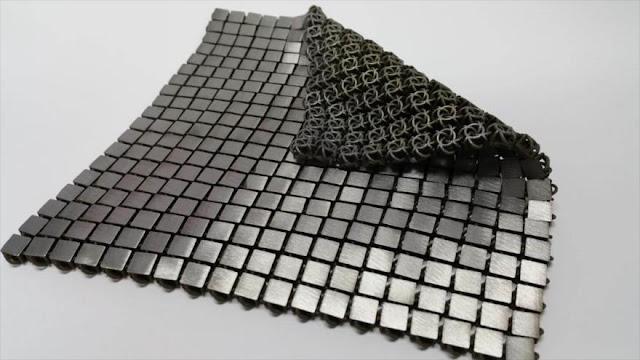NASA fabrica 'tejido espacial', combinación de moda e ingeniería