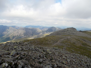 summit view from scafell