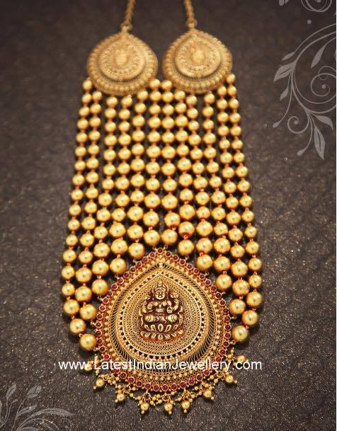 Gold Gundu Necklace