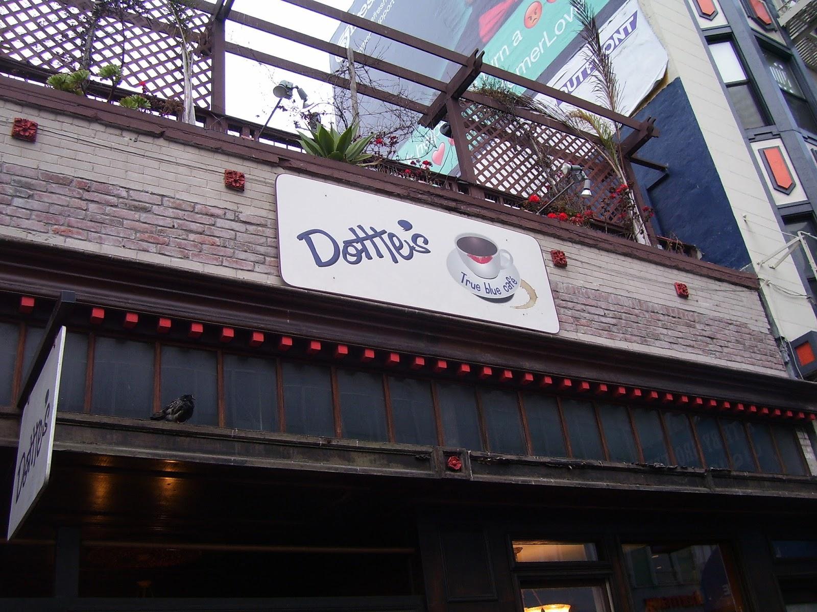 Dotties Blue Cafe Menu