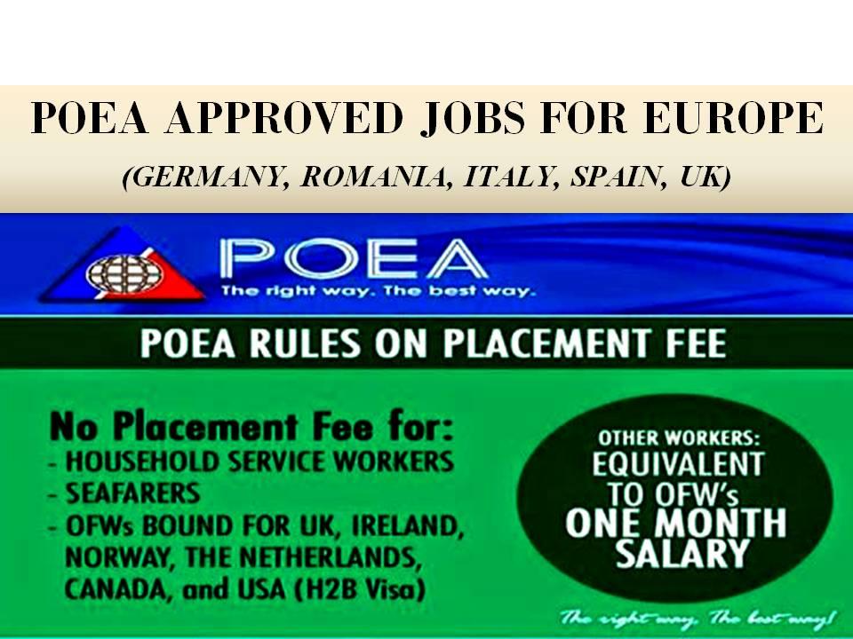 agencies eu jobs