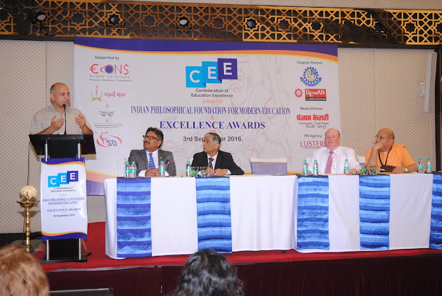 "Confederation of Education Excellence (CEE) organised a National Seminar on ""Indian Philosophical Foundation for Modern Education"