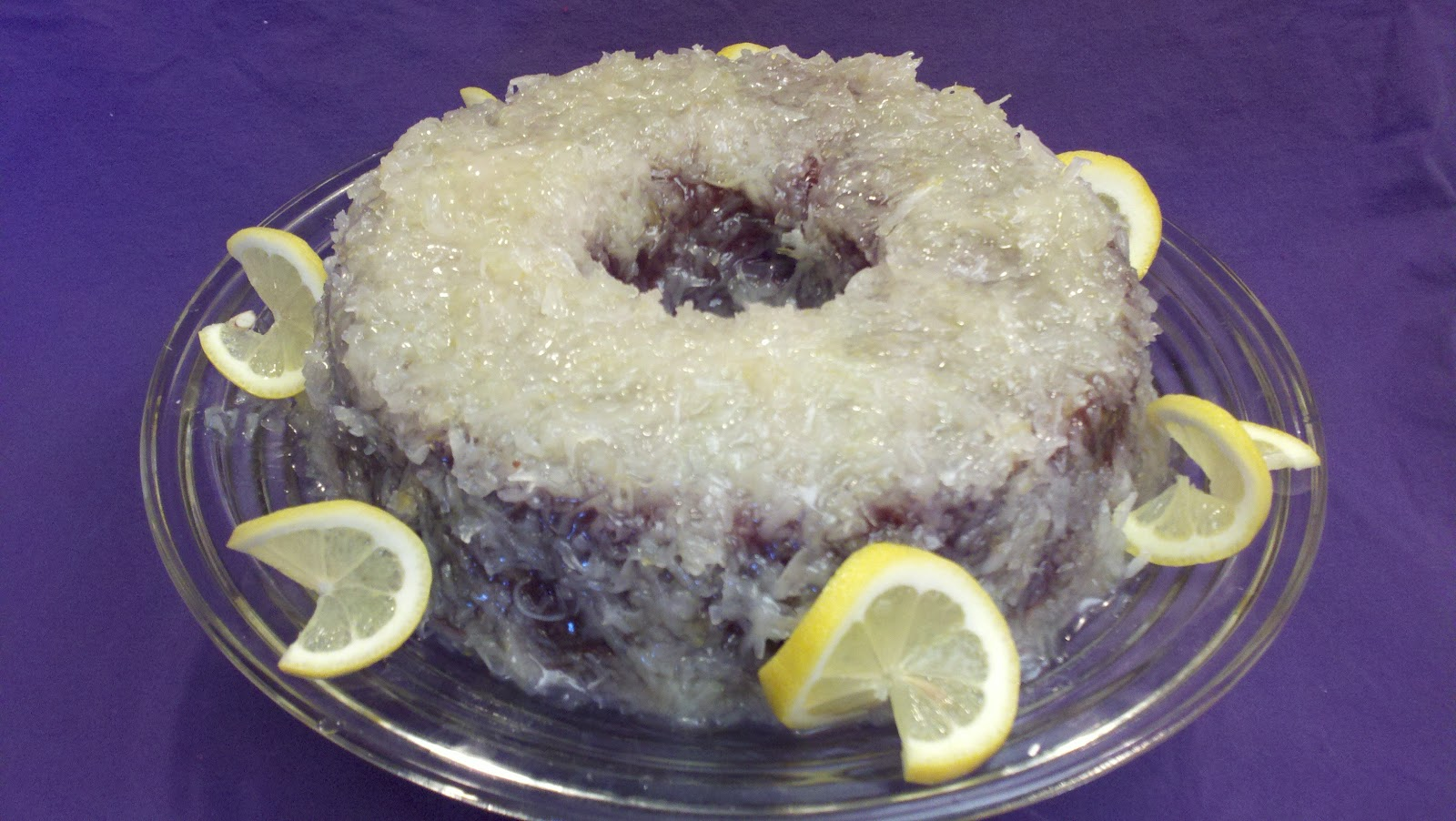 Grandma Yearwood S Coconut Cake With Lemon Glaze