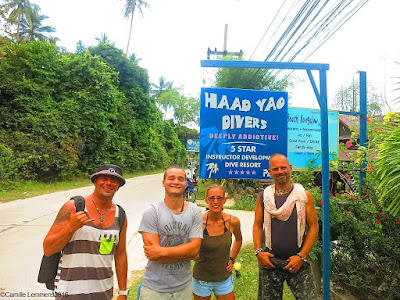 PADI IDC for March 2016 has started on Koh Phangan, Thailand