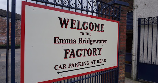 Emma Bridgewater Pottery Tour