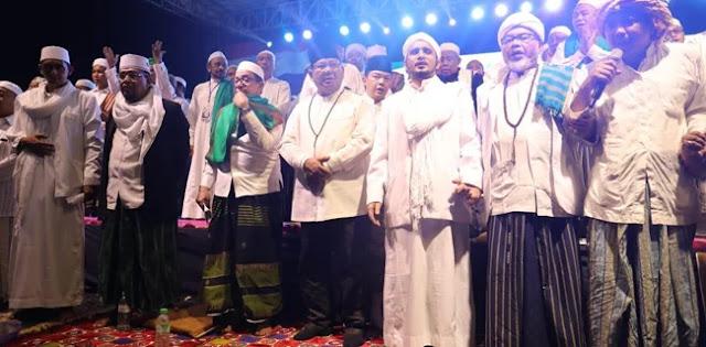 Di Hadapan Ulama, Prabowo Kembali Janji Akan Jemput Habib Rizieq