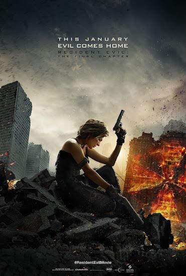 ตัวอย่างหนังใหม่ : Resident Evil: The Final Chapter (อวสานผีชีวะ) ซับไทย poster 2