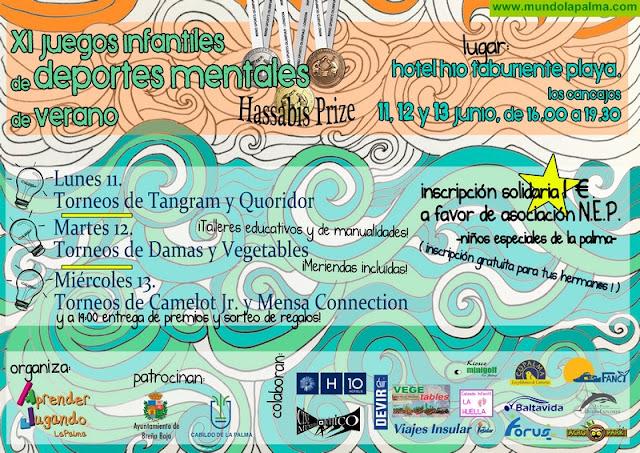 Aprender Jugando® La Palma recibe al Verano con sus XI Juegos Infantiles de Deportes Mentales en Breña Baja