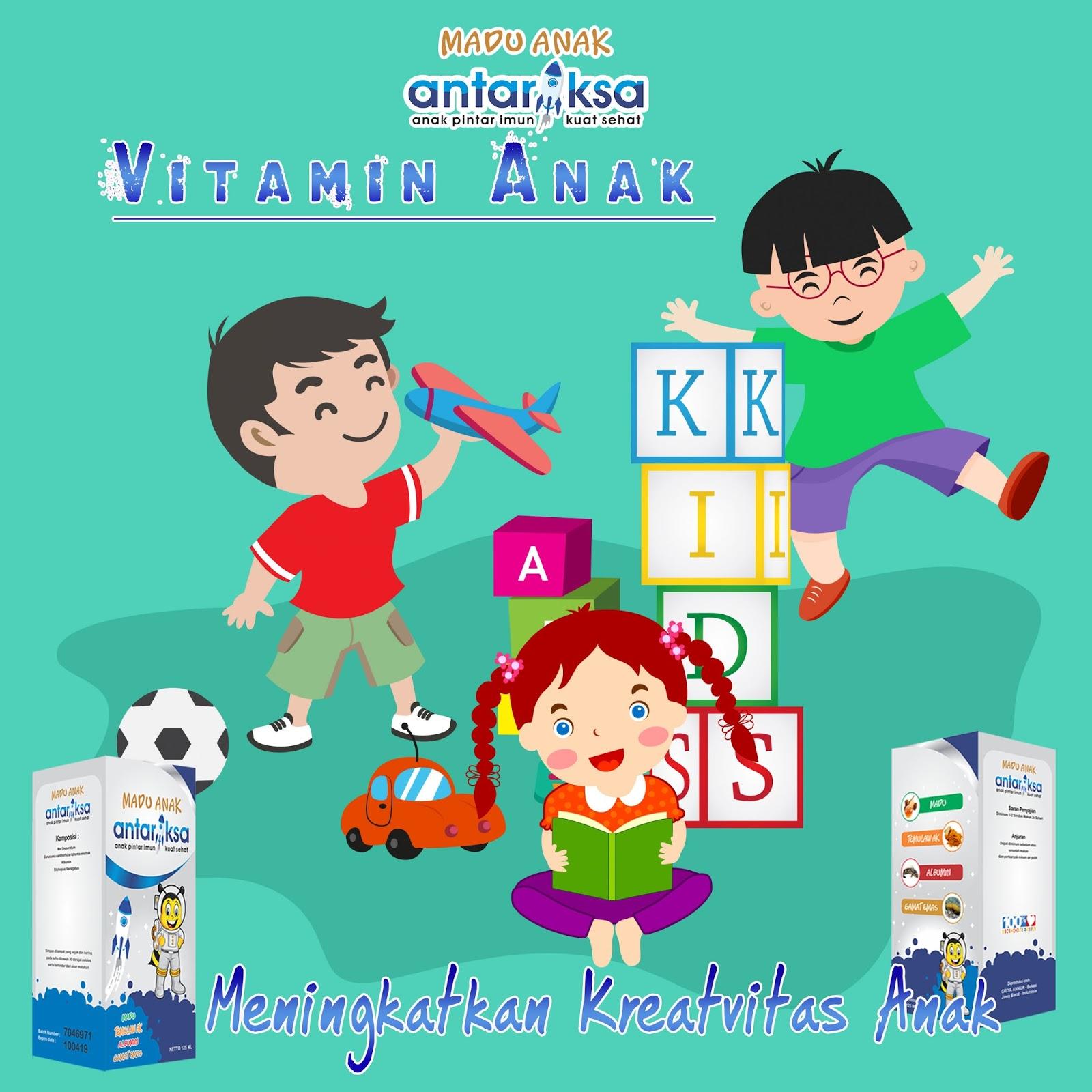 Vitamin Anak Untuk Meningkatkan Kreativitas Anak