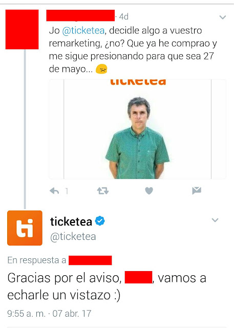 remarketing ticketea ivan ferreiro en bilbao