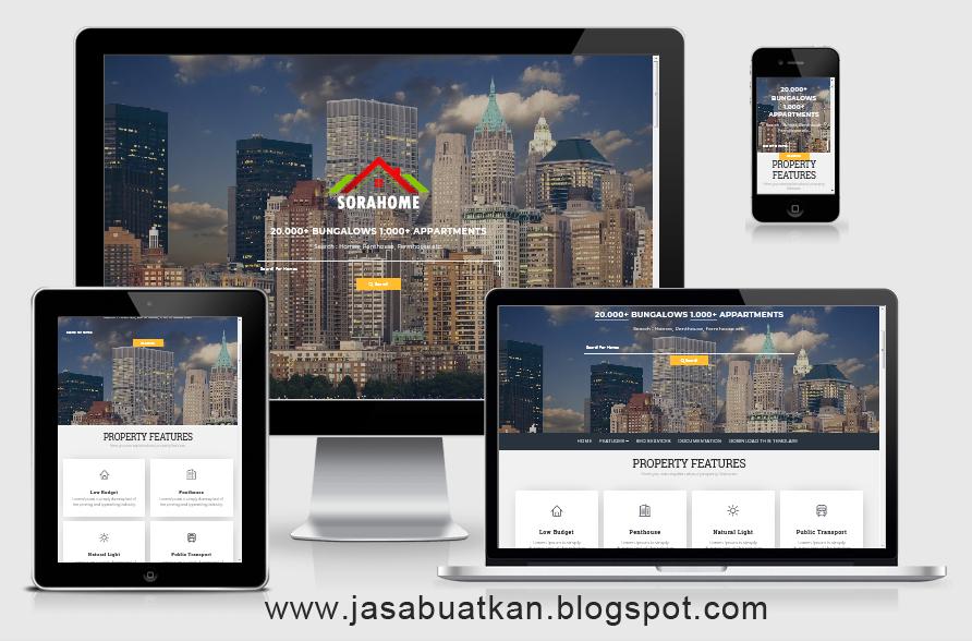 Landing Page Usaha Property