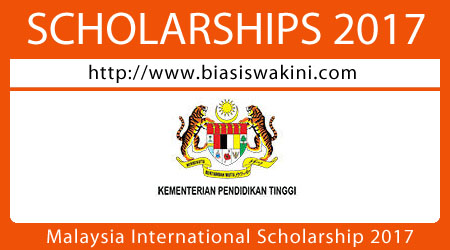 Malaysia International Scholarship 2017