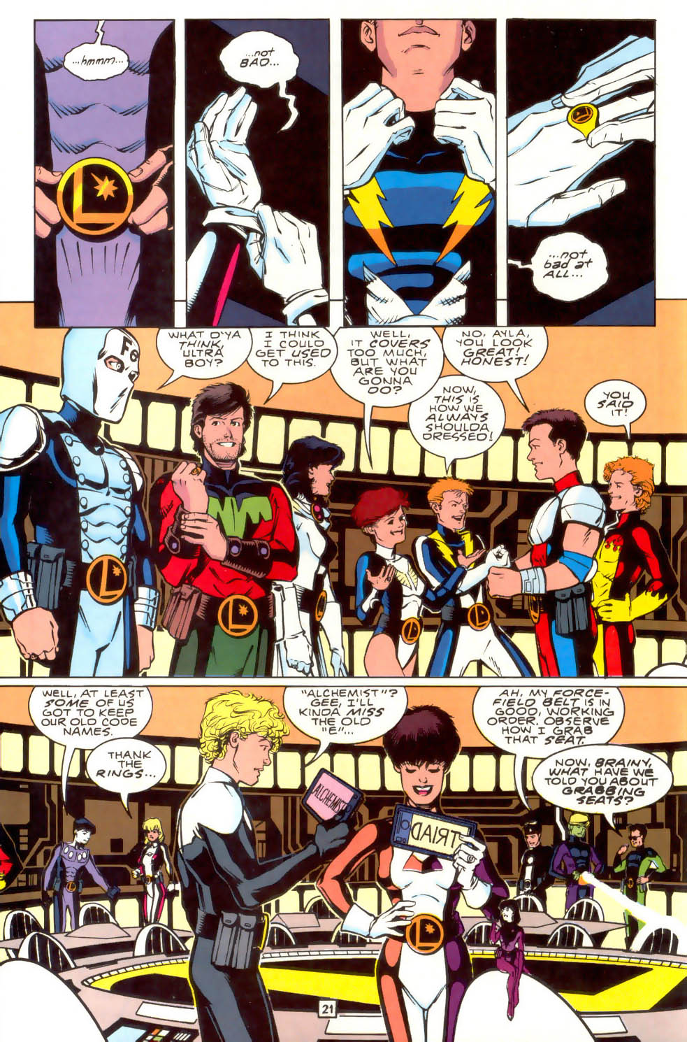 Legion of Super-Heroes (1989) 41 Page 21