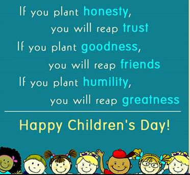 Essay on children day