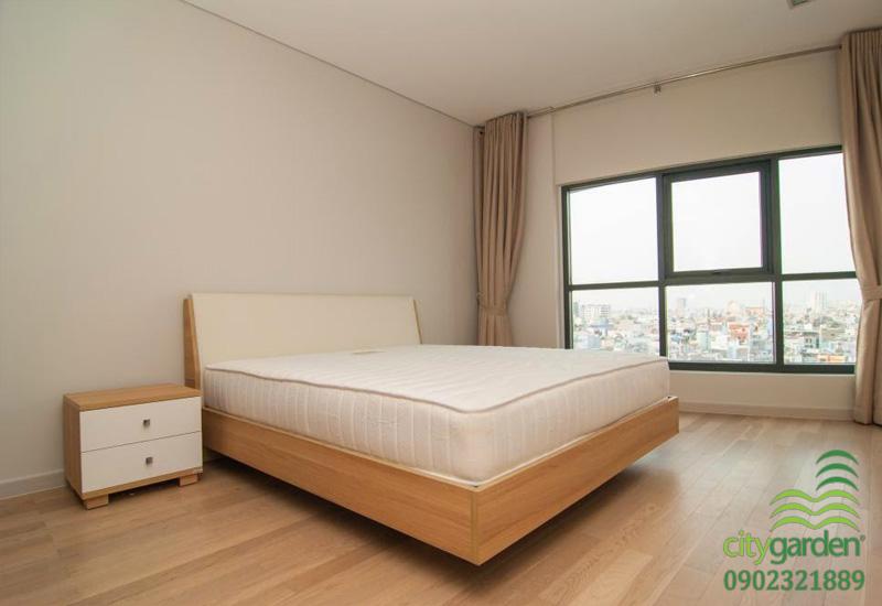 phòng ngủ chính view đẹp cần cho thuê tại city garden