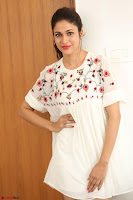 Lavanya Tripathi in Summer Style Spicy Short White Dress at her Interview  Exclusive 165.JPG