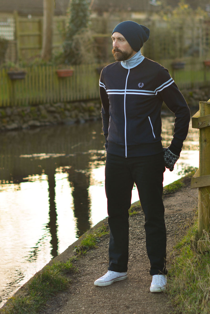 Casual Menswear: Fred Perry, Converse and Beanie