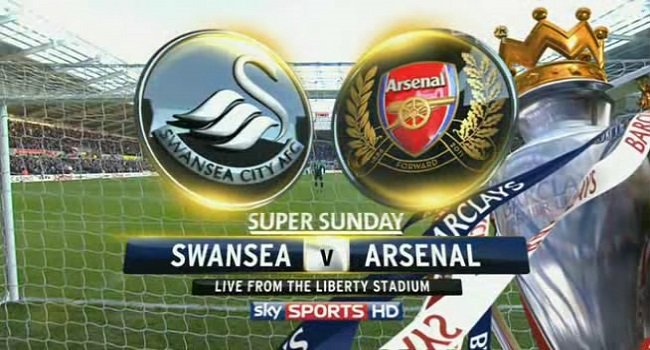 live streaming swansea vs arsenal 31 januari 2018