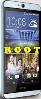 Root HTC Desire 826.