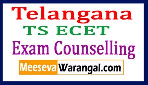 Telangana TS ECET Exam Counselling