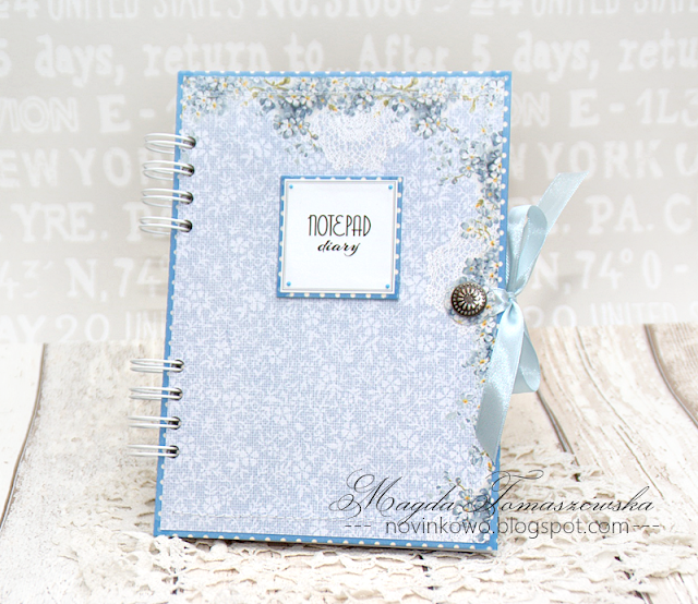 clean&simple blue notebook