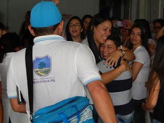 Médica cubana se despede de Baraúna
