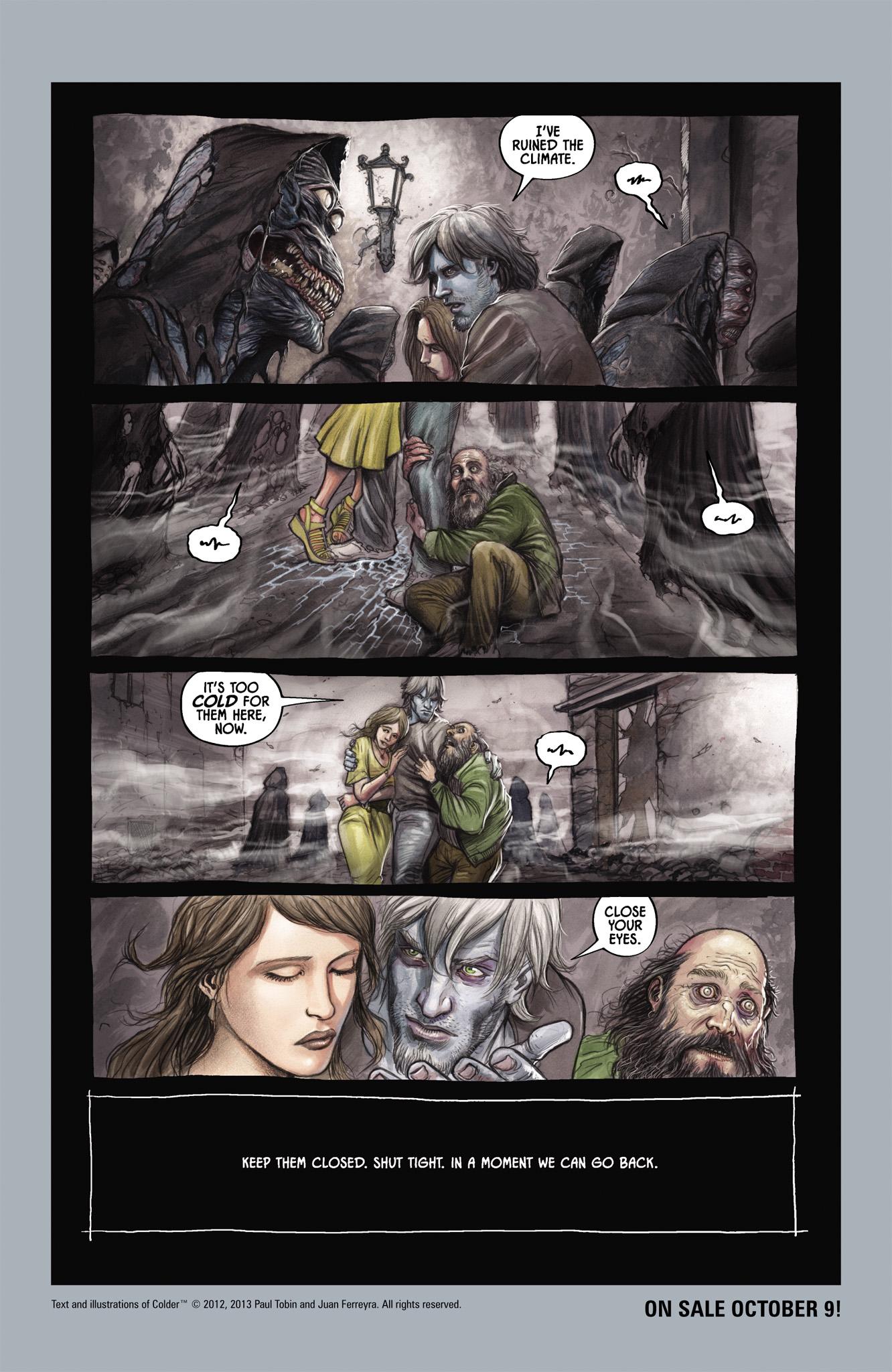 Read online Abe Sapien comic -  Issue #4 - 30