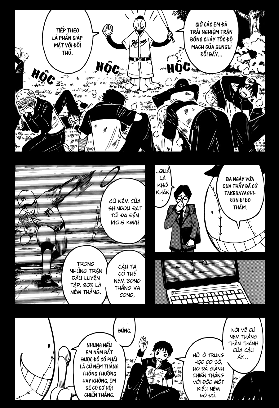 Ansatsu Kyoushitsu chap 34 trang 13