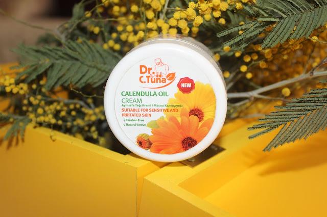 Farmasi Dr. C. Tuna aynısefa yağı içerikli Calendula Oil Cream