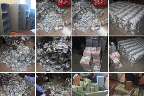 money seized ikoyi lagos