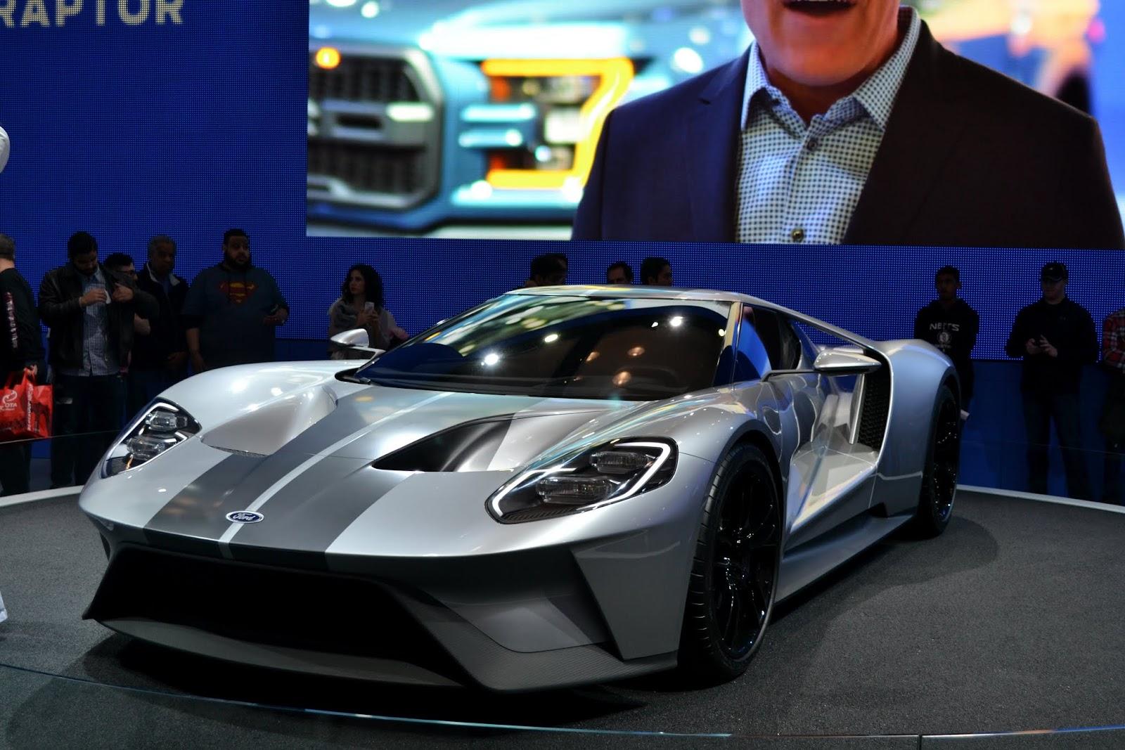 Ford GT. Ежегодное автошоу в Нью-Йорке - 2015 (New York International Auto Show - 2015)