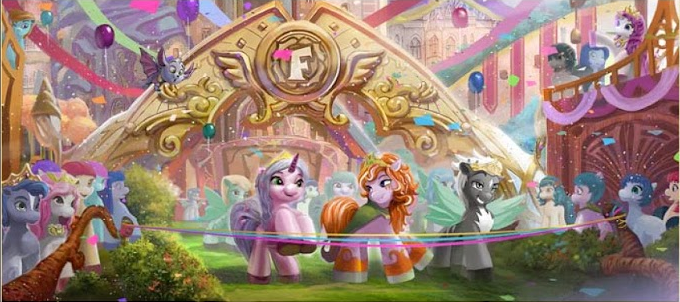 Filly Funtasia Concept Art