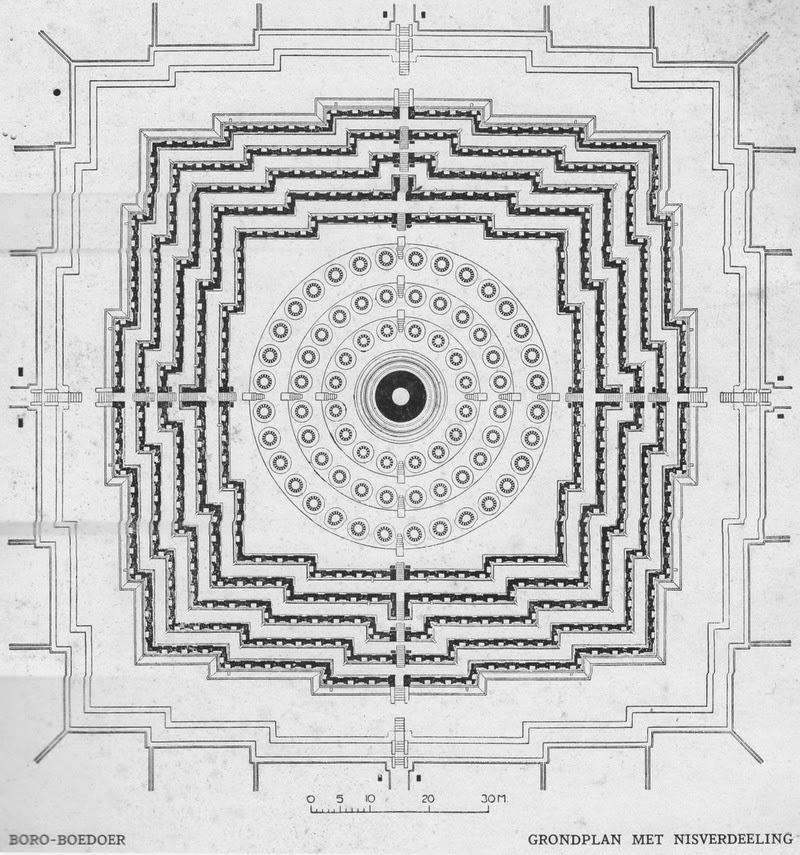 borobudur by L.J.M Feber