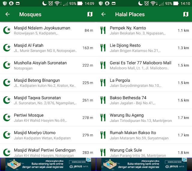 mudik lebaran, mudik lebaran 2017, muslim pro, masjid terdekat, rumah makan halal, halal