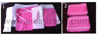 Tutorial membuat tas jinjing cantik dari baju bekas