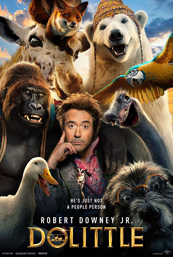 Dolittle 2020 English 720p WEB-DL  800MB With Subtitle