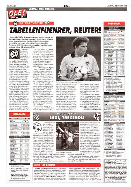 DORTMUND VS ROSTOCK TABELLENFUEHRER, REUTER