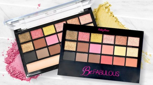 M3T - Paleta de Sombras Be Fabulous - Ruby Rose