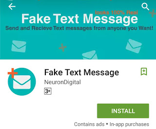 How to prank someone by sending Fake SMS