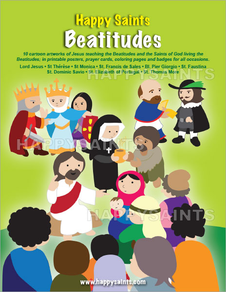 Happy Saints: Happy Saints Beatitudes
