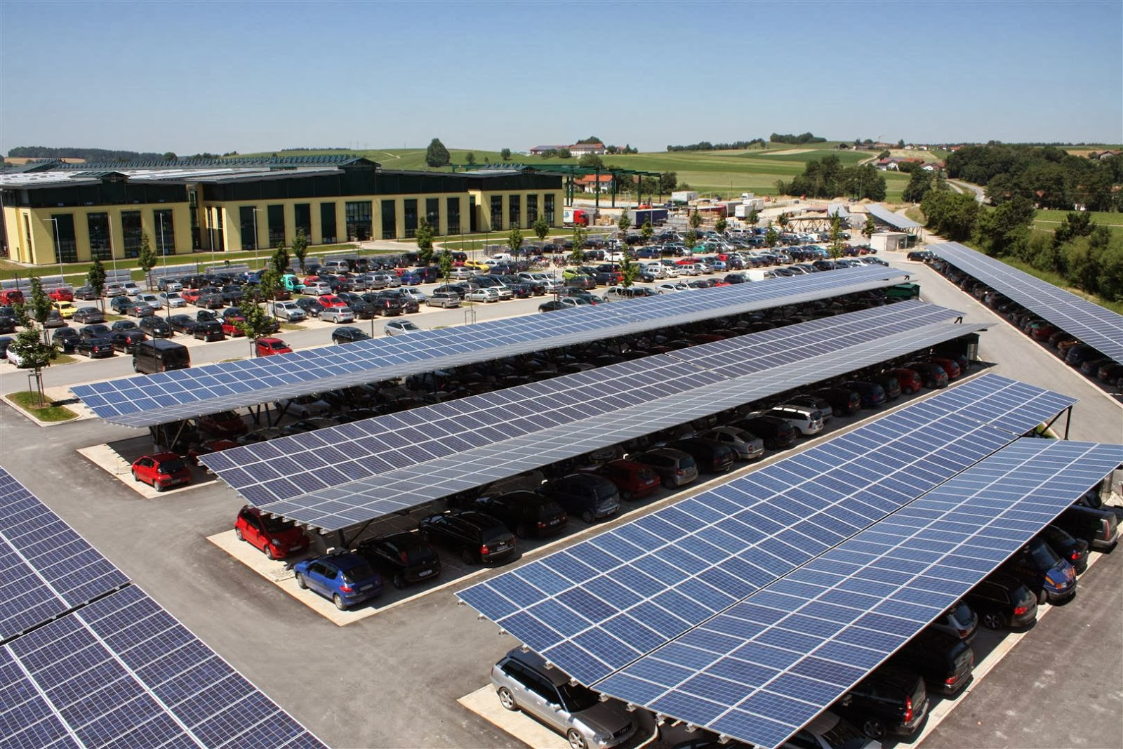 Solar Energy Data Solar Parking Lot