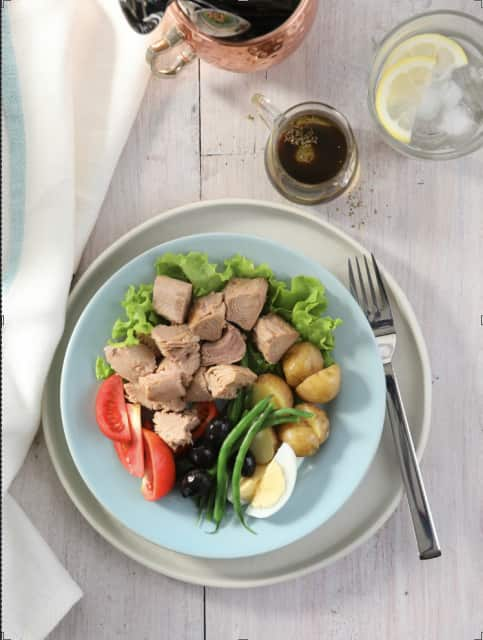 Tuna salad Nicoise recipe