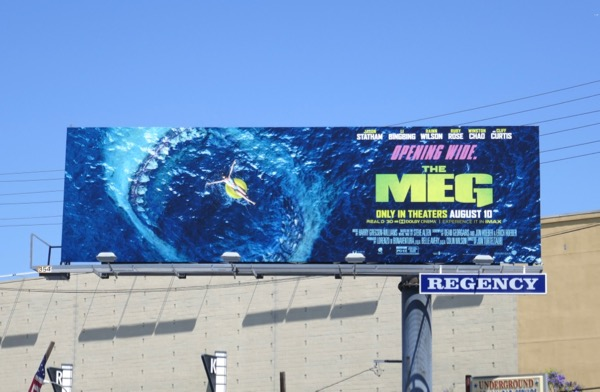 Meg movie billboard