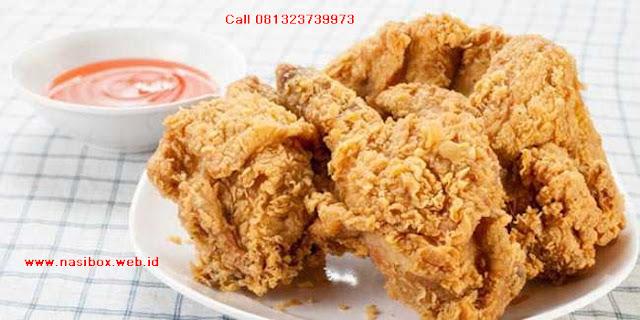 Resep goreng ayam crispy nasi box cimanggu ciwidey